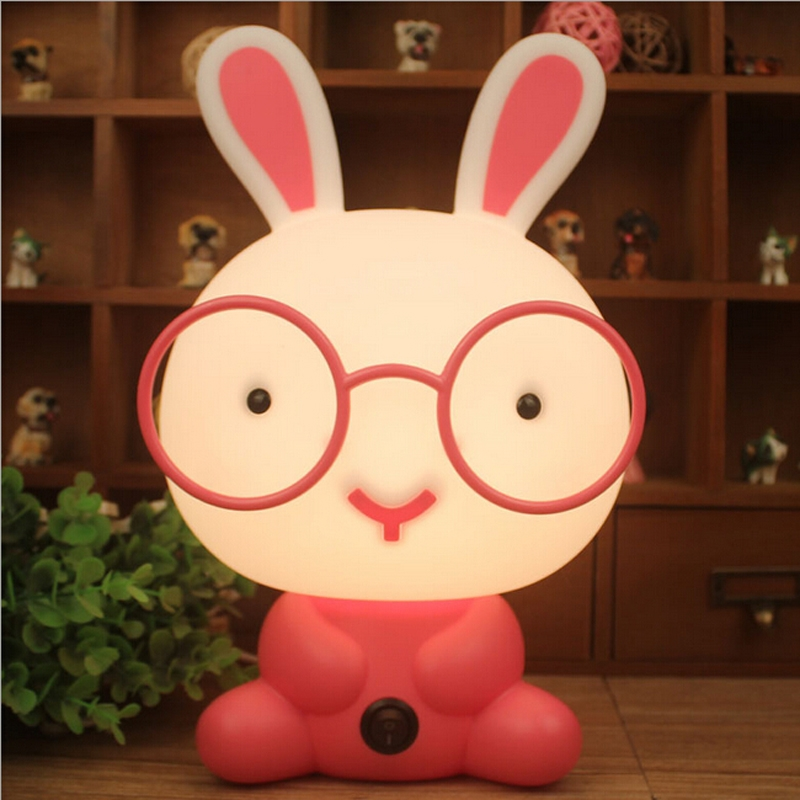 Cute-Night-Light-Baby-Room-Wearing-Glasses-Rabbit-Cartoon-Night-Sleeping-Light-Kids-Bed-Lamp-Night